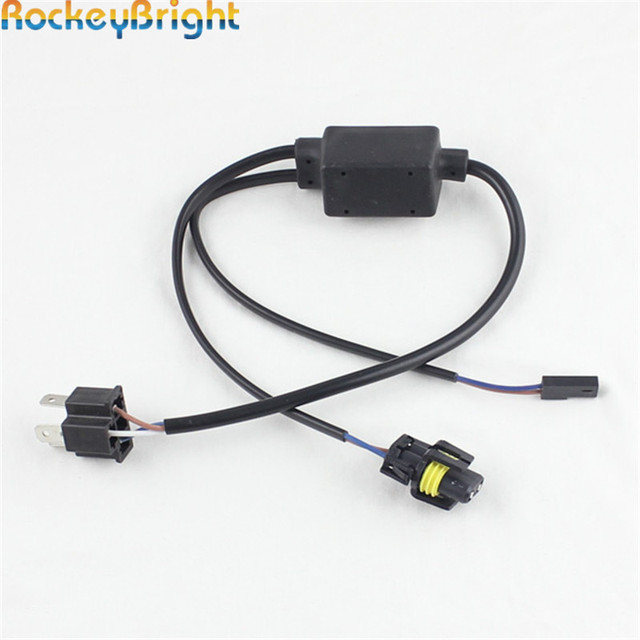 Rockeybright 2X H4 3 Bixenon Bulbs Small Wire Harness H4 Hi Low 9003 HID Xenon headlights_640x640 rockeybright 2x h4 3 bixenon bulbs small wire harness h4 hi low small run custom wire harness manufacturers at fashall.co