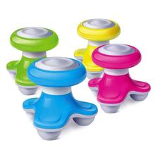 Caliente Mini USB Manejado Wave Vibrating Eléctrica Masaje de Cuerpo Completo Masajeador cabeza masajeador Color Al Azar