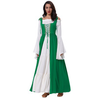 Belle Poque Medieval Dress Sleeveless Maxi Dresses Gowns Victorian Gothic Punk Vintage Christmas Tank Long Dress