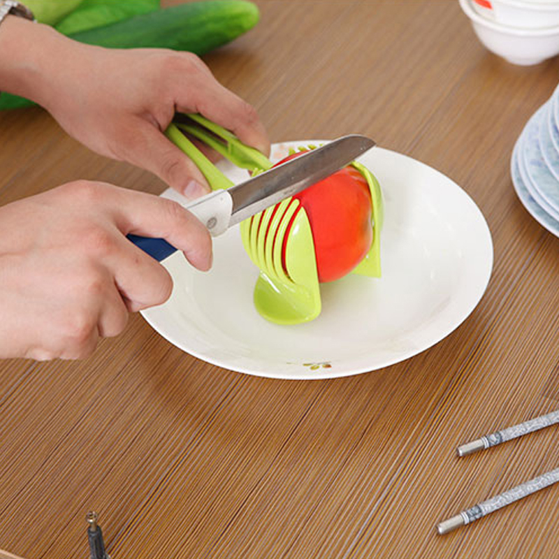 online shop tomato lemon slicer fruits cutter stand utensilios de cozinha assistant lounged vegetable round slices cooking kitchen tools aliexpress mobile