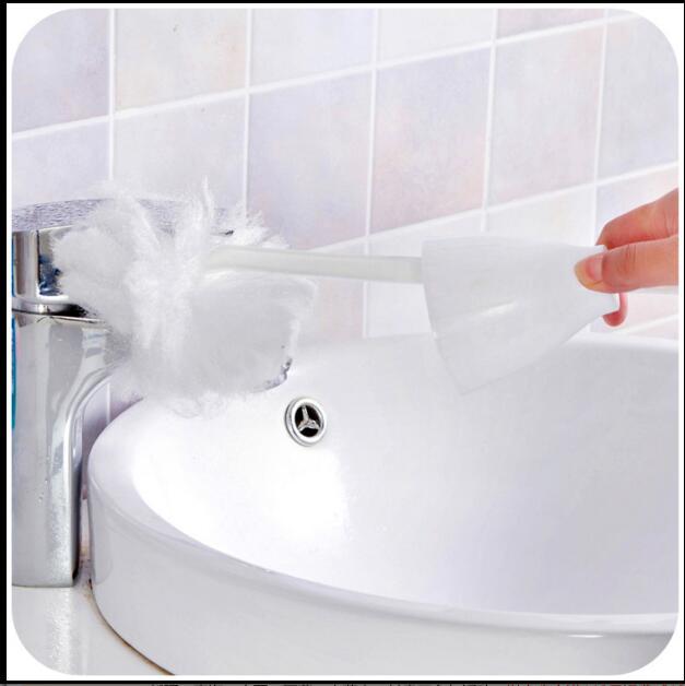 disposable toilet brush sponge toilet brush fur brush toilet brush spittoon hotels health free mail