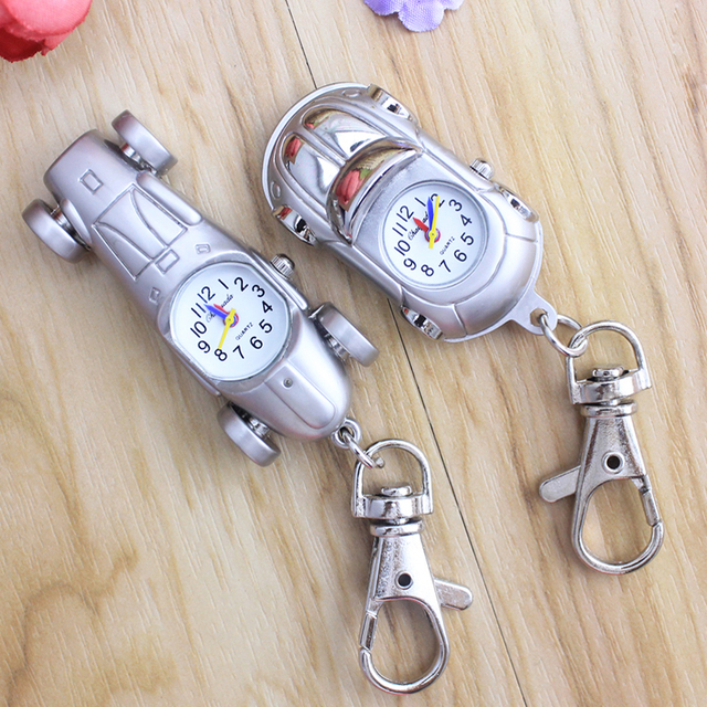 2018 cyd new Girl boy children creative quartz pocket watch car-shaped fashion p