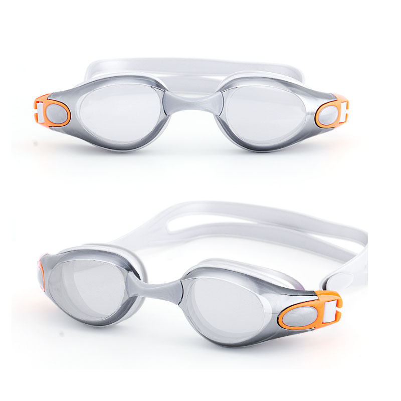 swimming goggles for myopia men and women anti-fog waterproof silicone swimming glasses