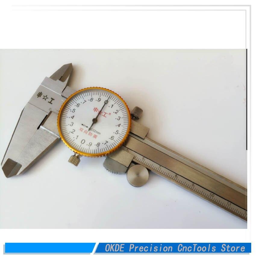 0.02 precision Application tape gauge caliper non embroidered steel tape caliper watch card tape card 0 150mm 0 200mm 0 300mm