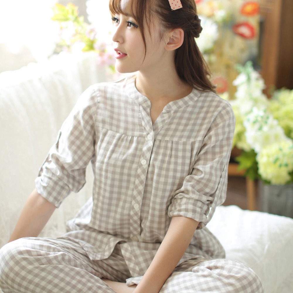 100% Cotton Comfortable Pregnant Women Pregnancy Nursing Pajamas Sets Suit Long Sleeve Maternity Nightwear Pijamas Lactancia