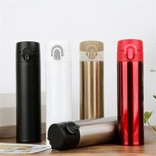 2018 420ML BPA FREE Insulated auto mug MILK coffee Cup Stainless Steel Thermos Water Bottle Vacuum Flask Travel Slim TEA Mug