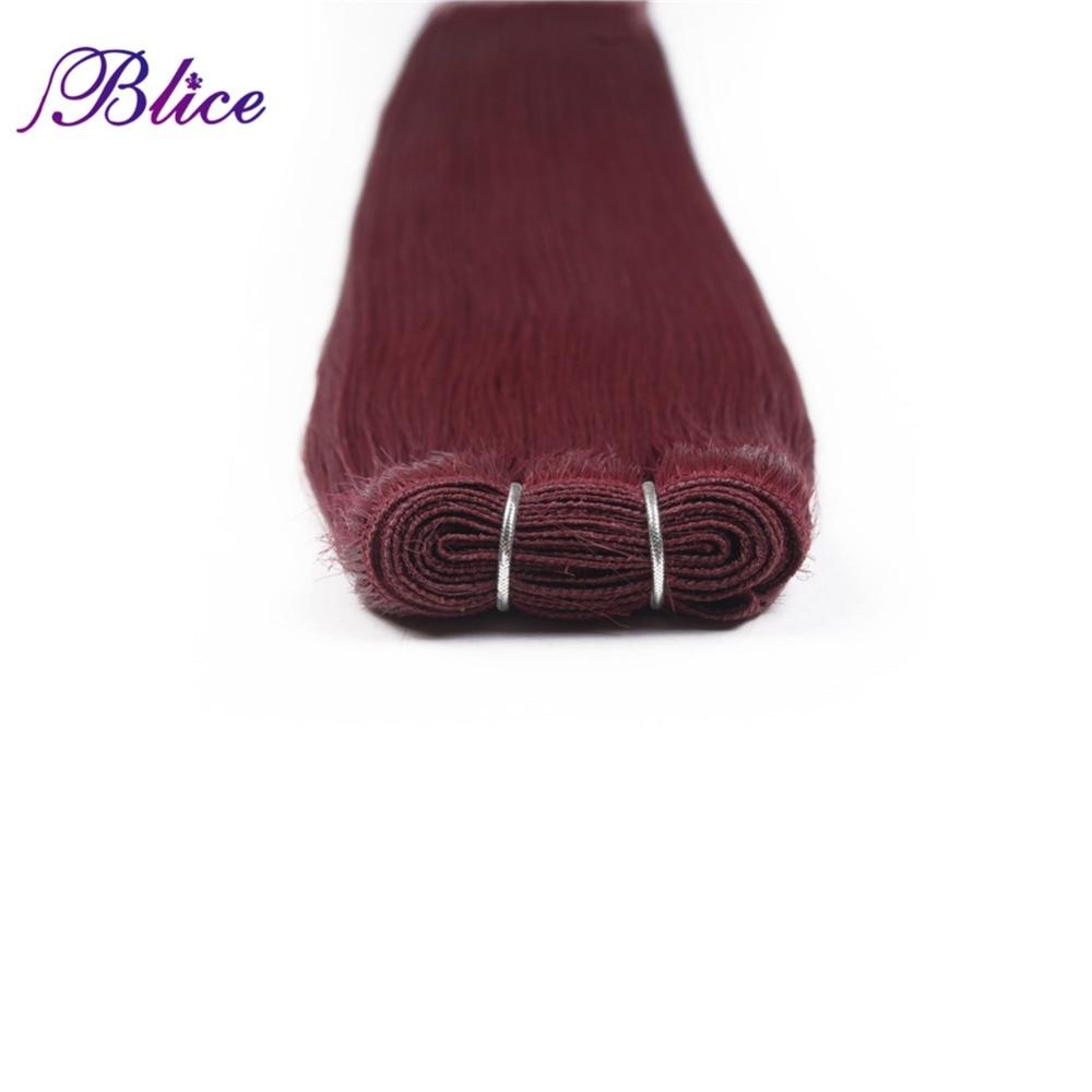 Blice Syntetiska hårförlängningar 5 stycken / Parti 26 tum #BUG - Syntetiskt hår - Foto 6