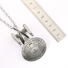 Star Wars Choker Necklace X Wing Millennium Falcon Pendant Men Women Gift Movie Jewelry Accessories YS11420