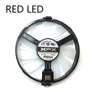 Image 2 - New FDC10U12S9 C PC Cooler Fan Replace For XFX AMD Radeon R7 370 RX 470 480 570 580 RX460 RX 460 Graphics Card GPU Cooling Fan