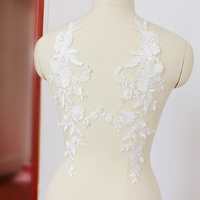 2017 Hot Sale Cotton Thread Lace Flowers Wedding Dress Head Gauze Clothing Clothing Buiter Lace Accessories