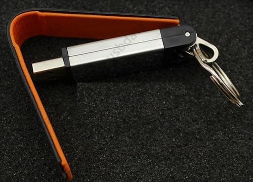 KeyChain Կաշի 8 GB 32 GB 64 GB 4 Գույն Pendrive Memory Stick - Արտաքին պահեստավորման սարքեր - Լուսանկար 5