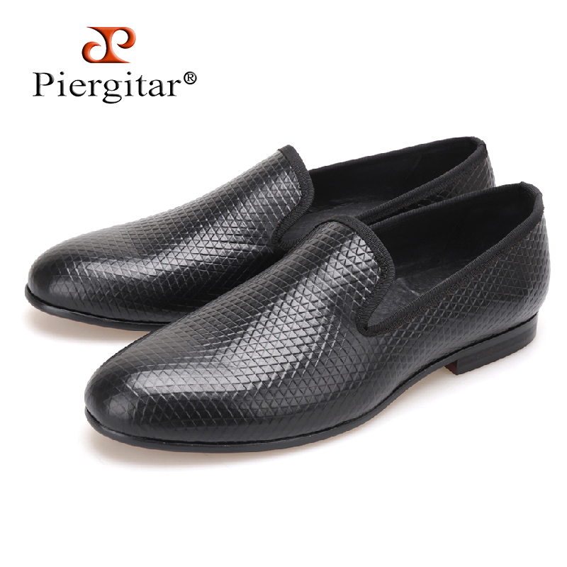 PIER new Pyramid three color loafer executed in nubuck with an embossed rubber print Boasting 3D