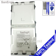 SanErqi Tested Tablet Pc EB-BT800FBE 7900MAH Battery For Samsung Galaxy Tab S 10.5 T800 T801 T805 Free Shipping+Tools