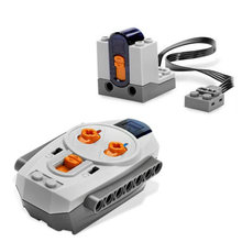 8885 Power Machinery Wireless Remote Receiver 2 4G Building Blocks Technic Educational font b Toys b