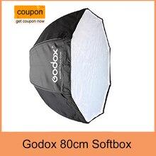 Godox 80 cm/31.5in Portable Octagon Flash Softbox Parapluie Brolly Réflecteur pour Studio Photo Flash Flash light Speedlite
