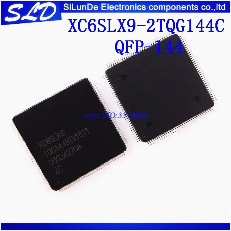 Free Shipping 10pcs lot XC6SLX9 2TQG144C XC6SLX9 TQG144 2C XC6SLX9 2TQG144 QFP144 new and original in