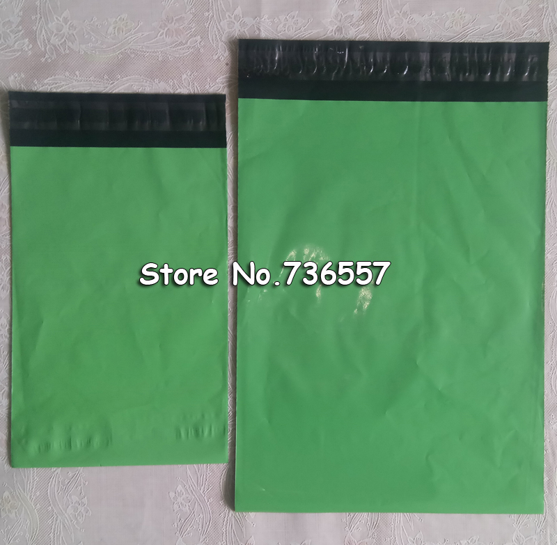 Lot 100Pcs Green Poly Mailer Self Sealing Plastic Shipping Mailing Bag Polybag 6