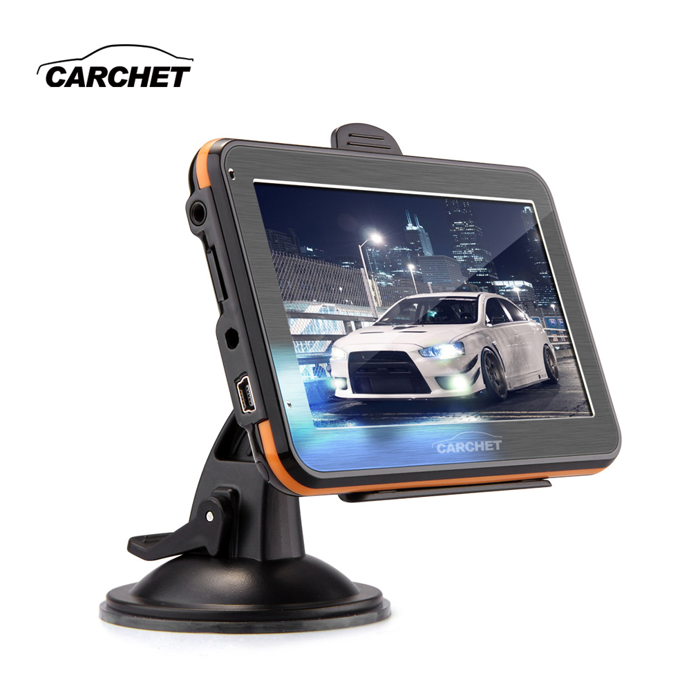 CARCHET GPS Navigation Brazil Canada Mexico Touchscreen America-Map FM TFT 4GB USA 128MB