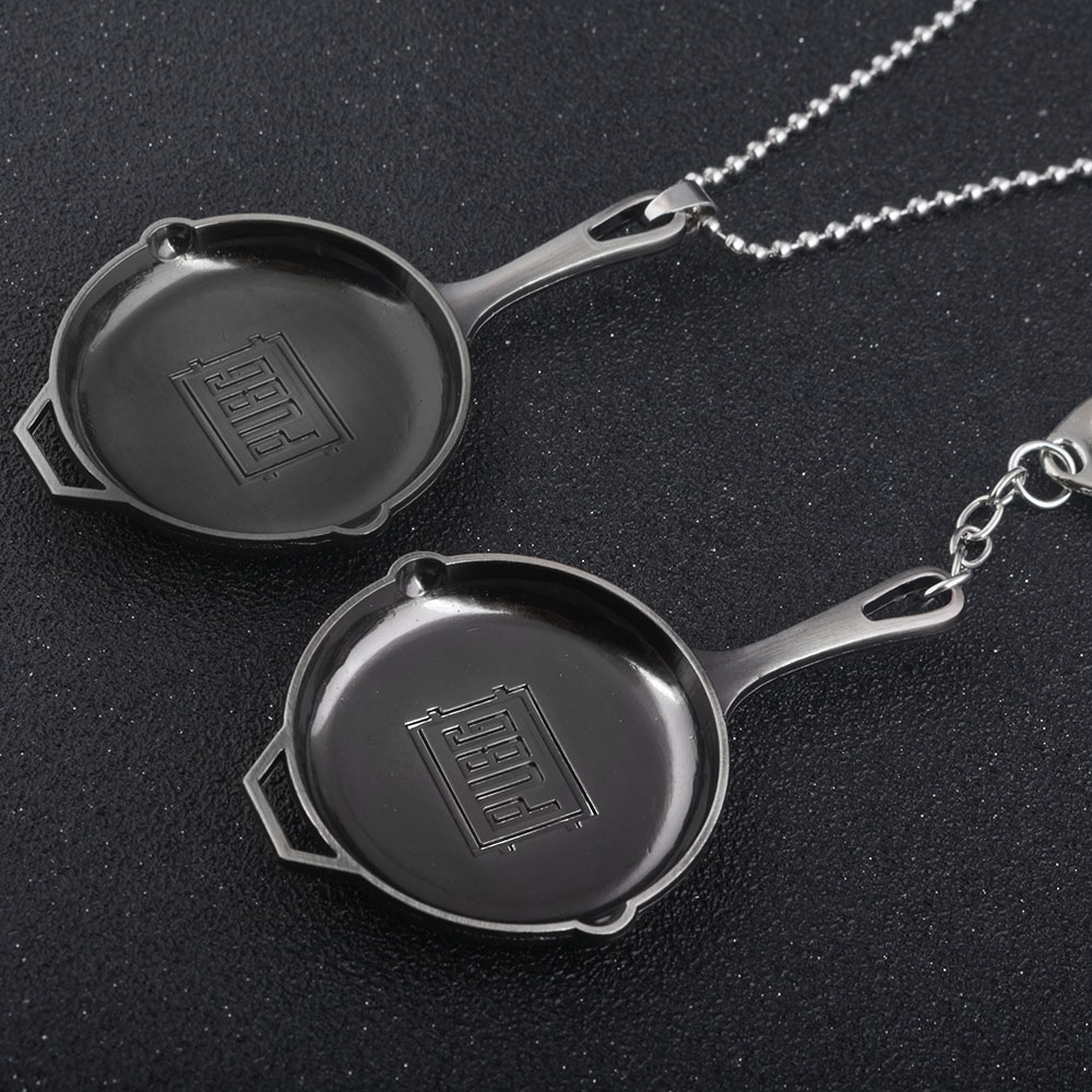 Drop shipping Game PUBG Playerunknowns Battlegrounds Pan series round Necklace Pendant keyring Men fashion Jewelry steampunk