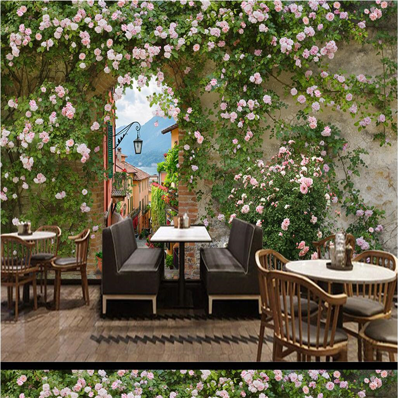 beibehang papel de parede Custom Fashion Rose Rose Photo Mural Wallpaper 3D Wall Background walpaper tapete 3d rose HD mural beibehang custom hd mural papel de parede 3d bathroom wallpaper for walls 3 d seaside town harbor wall paper photo wall mural