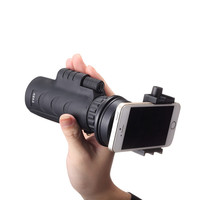 10x35 Wandelen Concert Universele Camera Lens Zoom Telefoon Telescoop Camera Lens Met Multi Functie Clip Holder Cellphone