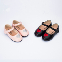 Healthy Genuine Leather Stitch Heart Baby Shoes Anti slip Bottom Baby Girls Casual Princess Shoes First Walkers Baby moccasins