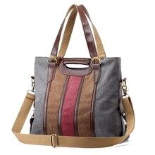 New Bolsas Feminine Leinwand Frauen Handtaschen Vintage Große Kapazität Damen Einkaufstasche Casual Mädchen Umhängetaschen 2 Größe