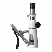 Measuring Microscope AmScope Supplies 100X Stand / Shop / Measuring Microscope + Pen Light
