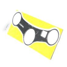 Hot motocicleta tanque de combustible de gas de protección placa tenedor pegatina badge sticker decal para honda cbr600 cbr 600 1999-2007