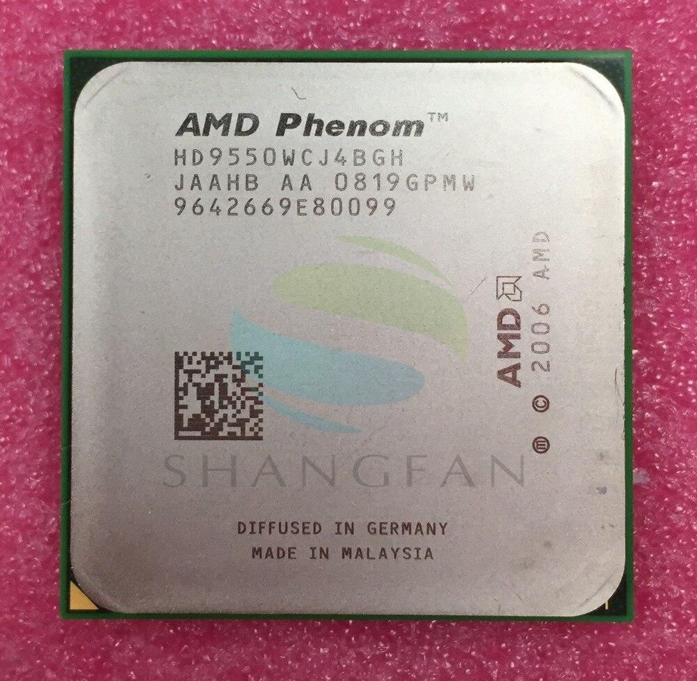 AMD AMD Phenom X4 9550 Quad-Core Bureau 2.2 ghz CPU HD9550WCJ4BGH Prise AM2 +/940pin