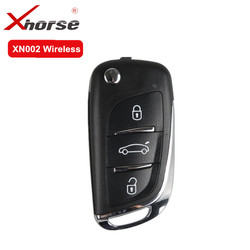 XHORSE Chave Remoto Sem Fio Para O Tipo DS 3 Botões XN002 5 pçs/lote Para VVDI Ferramenta Chave Chave de Controle Remoto Universal Para VVDI2