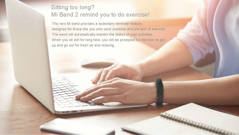 Xiaomi Mi Band 2 Fit Replacement Smart MI Band 2 Touchpad Screen Heart Rate Monitor Pedometer Wristband IP67 FitnessTracker 16