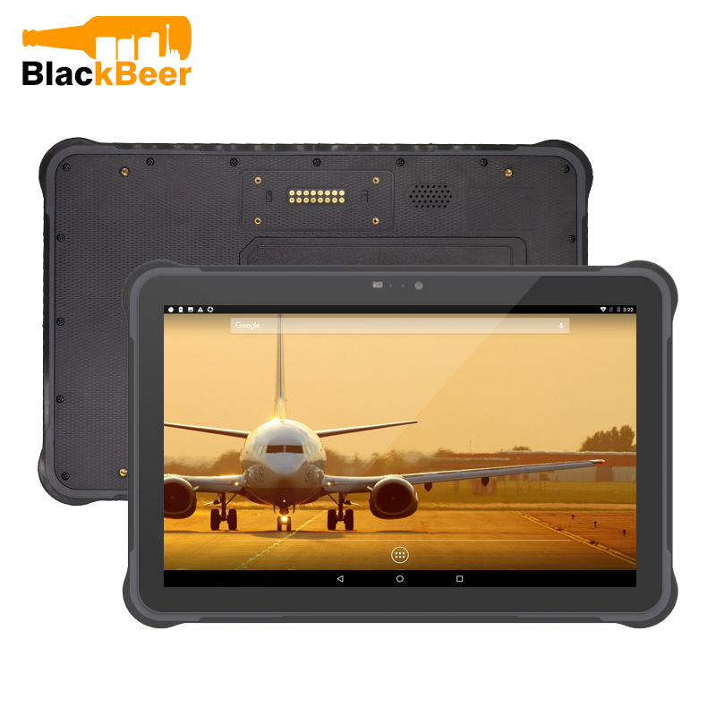 UNIWA T11 Wasserdichte IP67 Handy Robuste Tablet Octa Core <font><b>Android</b></font> 7 GPS 4G Tablet 10,1 zoll Stoßfest Tablet PC WIFI NFC image