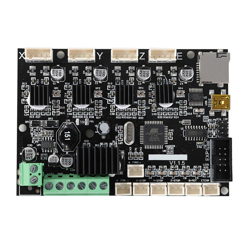 Carte mère cuivre V1.1.5 Interface USB avec pilote TMC2208 carte mère 24V Super silencieuse imprimante 3D intégrée pour Ender 5 Cr10