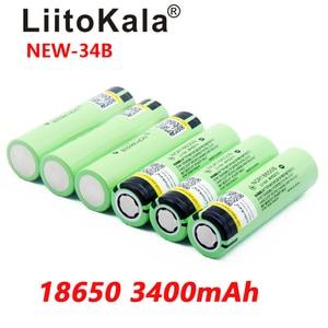 Liitokala New Original 18650 3400mAh battery Li-lon Rechargeable NCR18650B Battery 3.7 V batteries