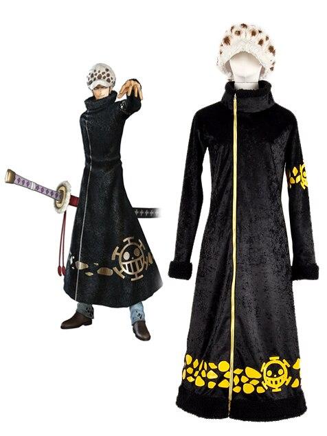 One Piece Surgeon of Death Trafalgar Law Cosplay Costume
