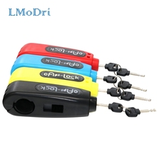 LMoDri Universal Motorcycle Handlebar Safety Lock Scooter Brake Throttle Grip anti theft Protection Security