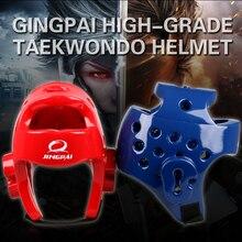 1cad9006f777c Proteção da cabeça capacete Taekwondo sanda boxe muay Thai protetor de jogos  do esporte ginásio Karate treinamento Profissional .