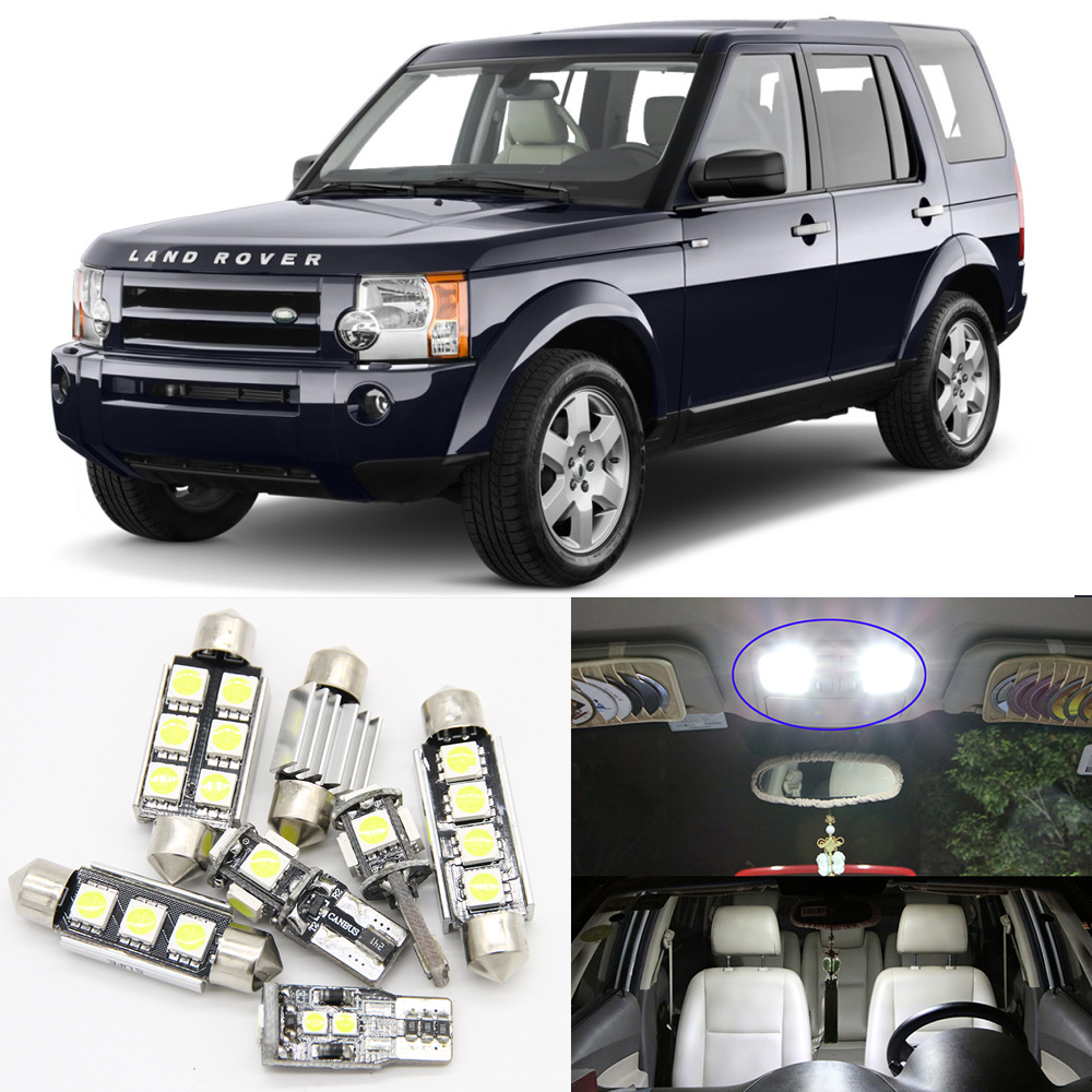 14Pcs Car LED Interior Bulb Kit for 2005 2006 2007 2008 2009 Land ...