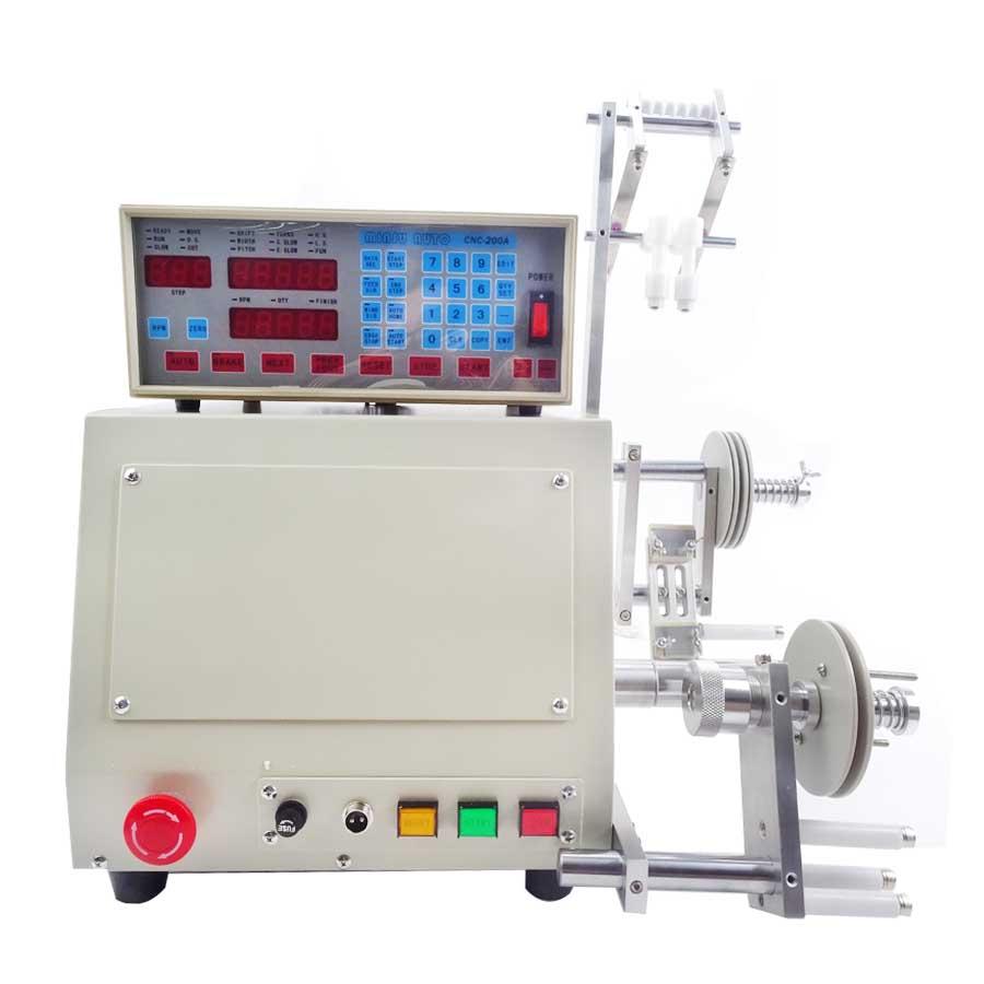1 pc Haute qualité Nouvel Ordinateur CNC Automatique Coil Winder Bobine D'enroulement Machine pour 0.03-1.2mm fil 220 v