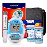 Safety blood glucose test paper article 50 family measurement of blood sugar diabetes test instrument bottle instrument