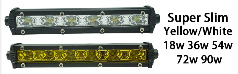 super slim led light bar