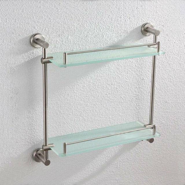 Freeshipping mensola del bagno, mensole per bagno, mensola di vetro ...