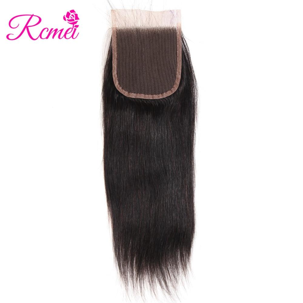 HTB1iUTDX2QypeRjt bXq6yZuXXaz Brazilian Straight Human Hair Weave Bundles with Closure 3 Bundles With Lace Closure 4*4 Remy Human Hair Bundles Extensions