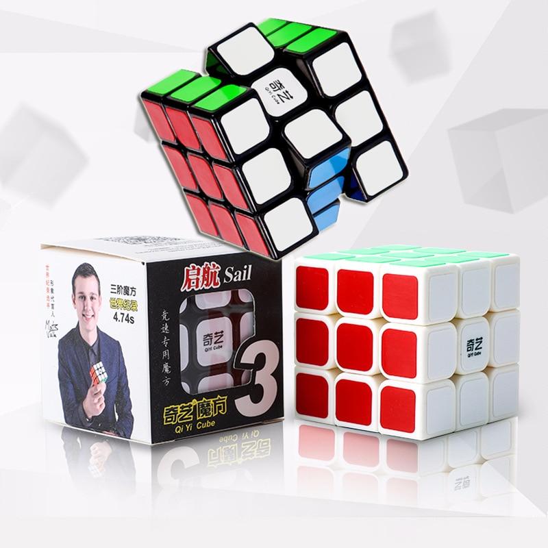 Magic Classic Cubes Puzzle 3X3X3 Fidget Toys 3D Cubic Ruby - ფაზლები - ფოტო 1