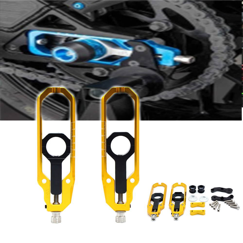 For Yamaha YZF R1 YZF-R1  2008 2009 2007-2010 Chain Adjusters Tensioners CNC Aluminum For Yamaha motorcycle parts dropshipFor Yamaha YZF R1 YZF-R1  2008 2009 2007-2010 Chain Adjusters Tensioners CNC Aluminum For Yamaha motorcycle parts dropship