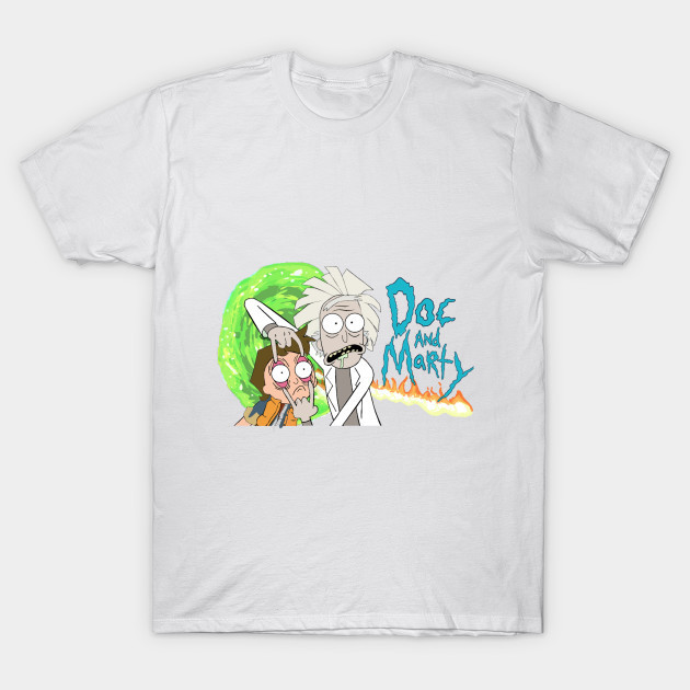 Rick and Morty- Crossover T-Shirt