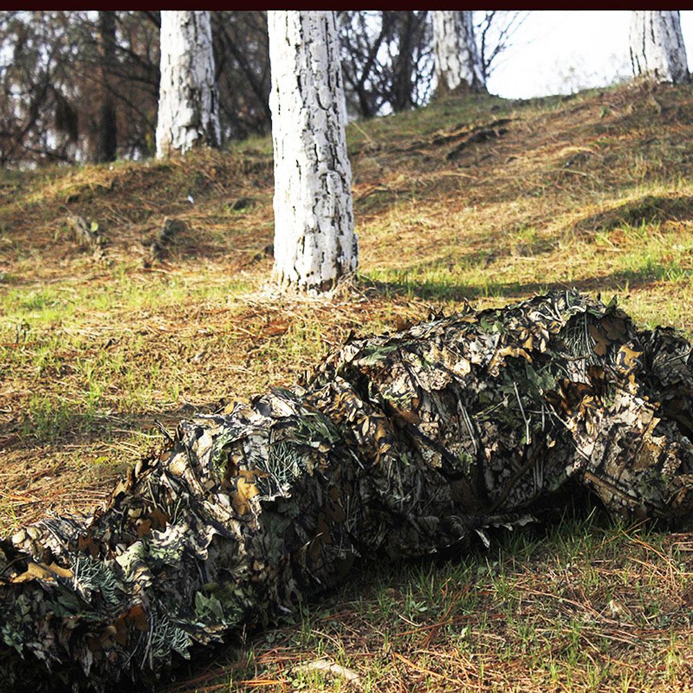 Caça ghillie terno 3d camo biônico folha
