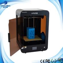 Новый Полу-Автоматическое Выравнивание Createbot 3D Max Принтер Новая Версия Платы Управления Большой Размер Печати 280*250*400 MM 3D Принтер комплект