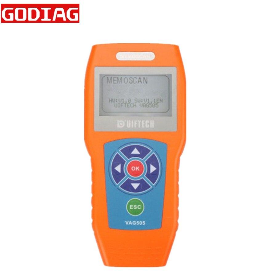 Цена за Супер Профессиональный VAG505 для VW/Audi сканер памятки VAG 505 сканер